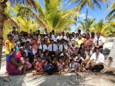 BYUH students share the announcement of Tarawa Kiribati Temple is an answer to prayers