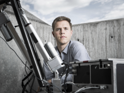 Jared Blanchard was a team lead in the Mars Rover competition
