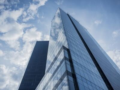 tall skyscraper building