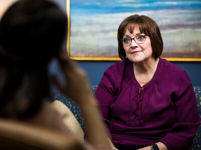 Lisa Leavitt is BYU's sexual assault survivor advocate