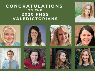 2020 Valedictorians Announced in the College of Family, Home, and Social Sciences