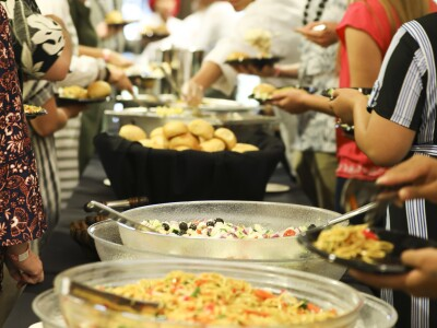 Photo of BYUH Catering an event