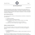 Sexual Offender Policy Document