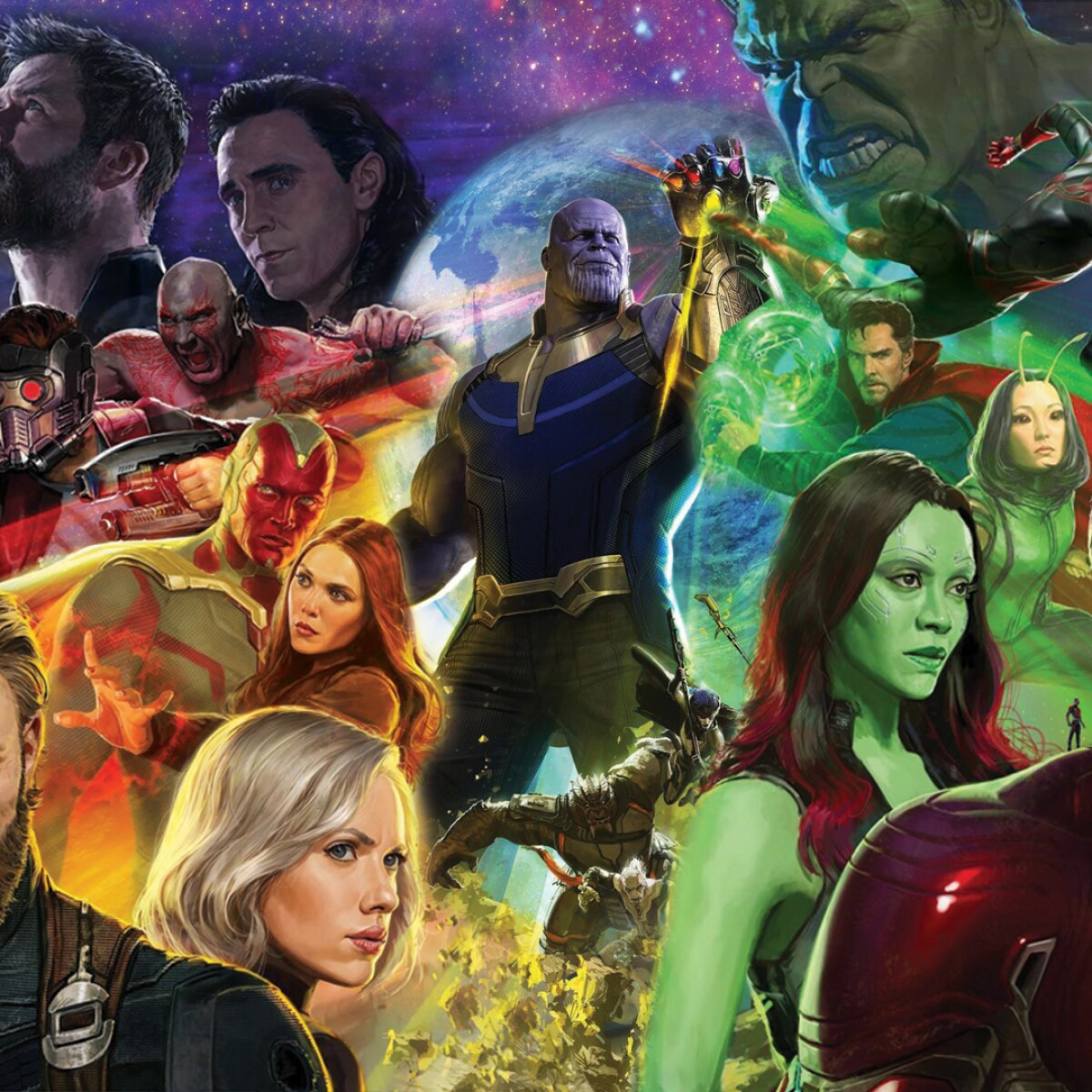 Live Update-ASHISH CHANCHLANI   Avengers Infinity War