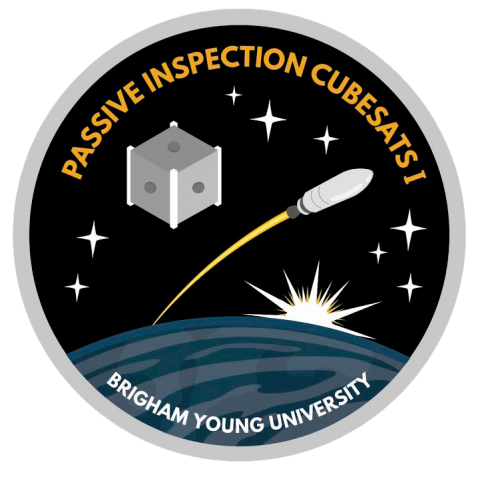 An image of a passive inspection cubesats patch